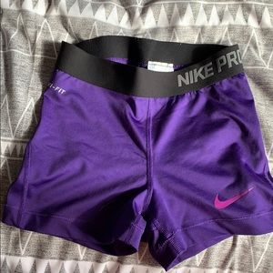 Nike compression shorts!